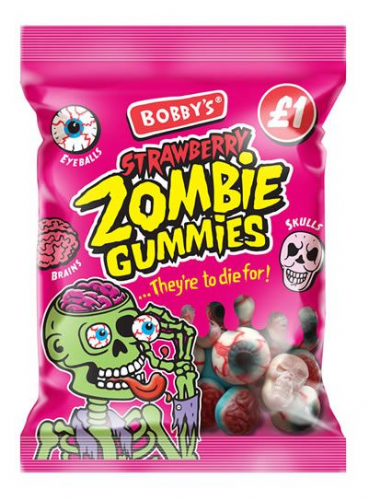 Bobby's Strawberry Zombie Gummies £1 Bag